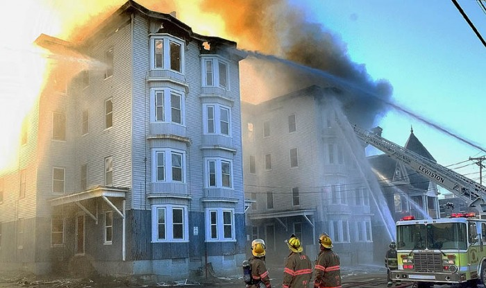 In Lewiston, Maine, where there is a proliferation of Somali Muslims, a Somali teenager was charged with setting fires to 4 buildings