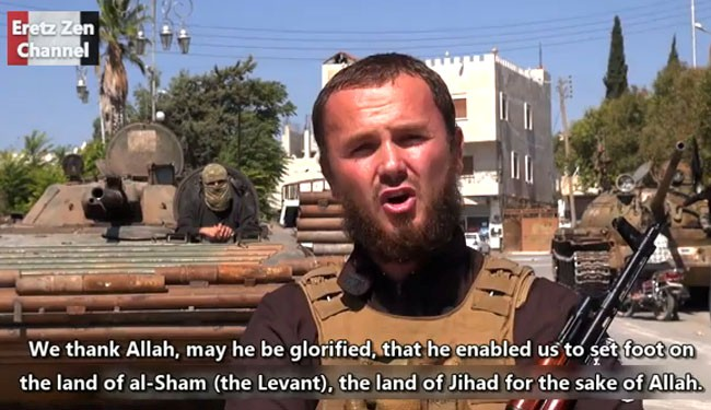 ISIS terrorists praise war, bloodshed in Syria: Video