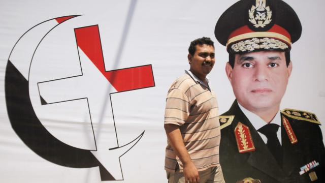 El-Sisi is as popular with Christians as he is with Muslims
