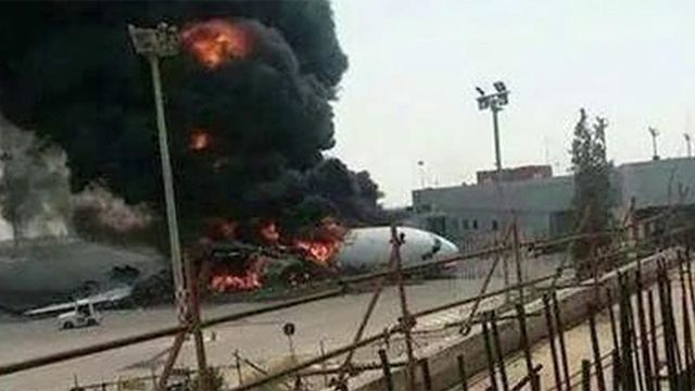 Jihadists destroyed the main airport and several planes in Libya recently