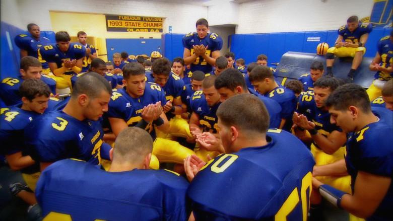 Dearborn High School's all-Muslim football team