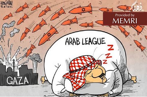 The Arab League snoozes as Israeli missiles land on Gaza