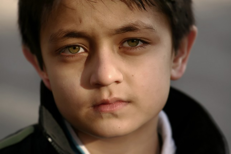 This is a young Afghan boy but not the one in this story
