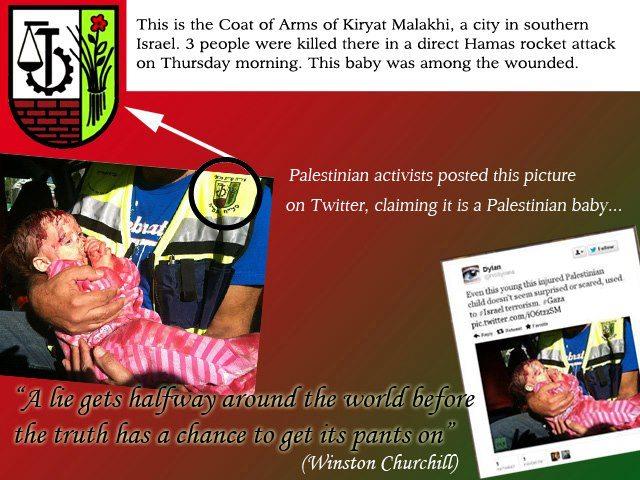 Hamas fake photo 2