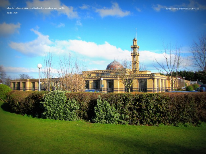 IRELAND plans to build $84 million Islamic Center