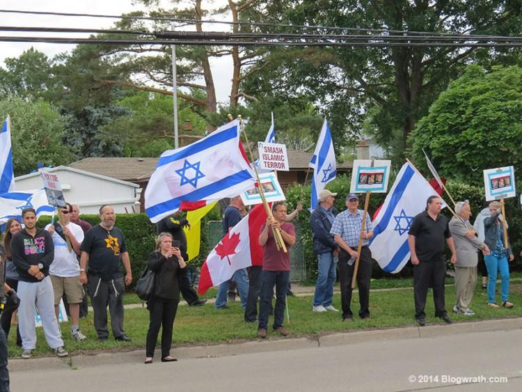JDL-protest-Palestine-House-1