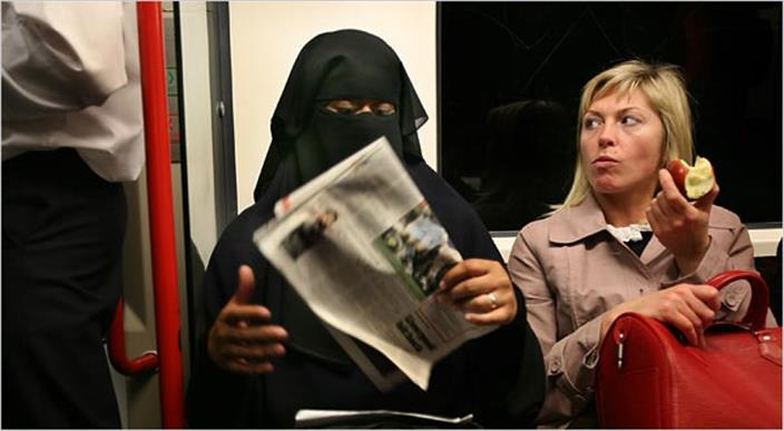 PAYBACK TIME: 'No-Go' areas in Leicester for Muslim women wearing full face-covering headbags
