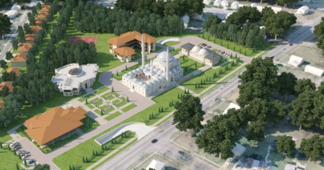 WASHINGTON DC $100 Million Mosque Being Built a Stone's Throw from DC Beltway