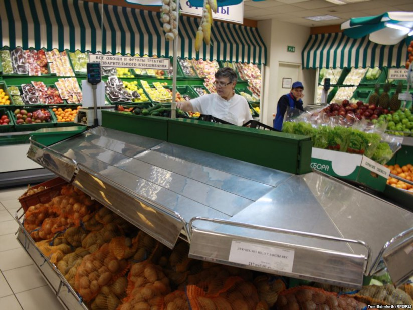 Empty produce shelves in Russia will soon be filled with Israeli products