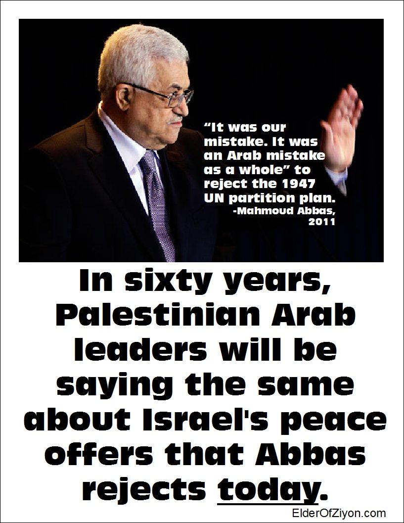 Abbas rechaza