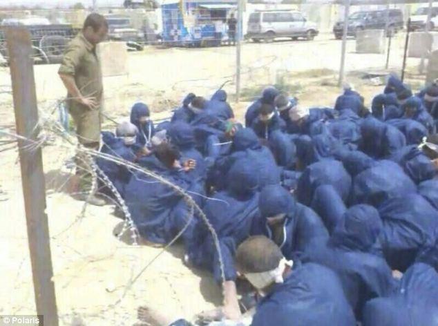 Hamas prisoners held by Israel