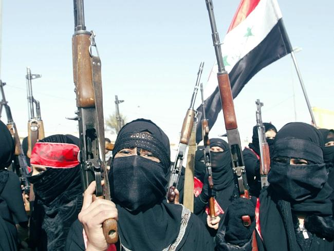 Female jihadists in Syria