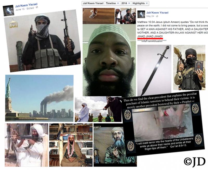 Alton Nolen aka Jah-keem Yisrael, Muslim beheader