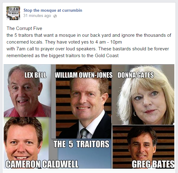 Stop-the-mosque-at-currumbin-Traitors
