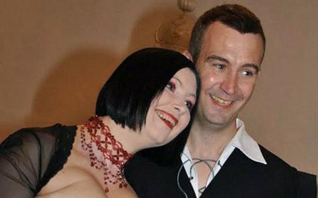 David Haines with Croation-born wife Dragana
