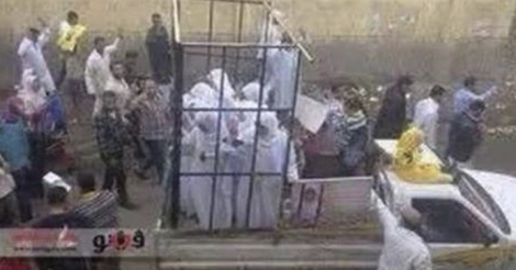 Yazidi girls transported to be sold as sex slaves for $25 each for being non-Muslims, to be raped daily]