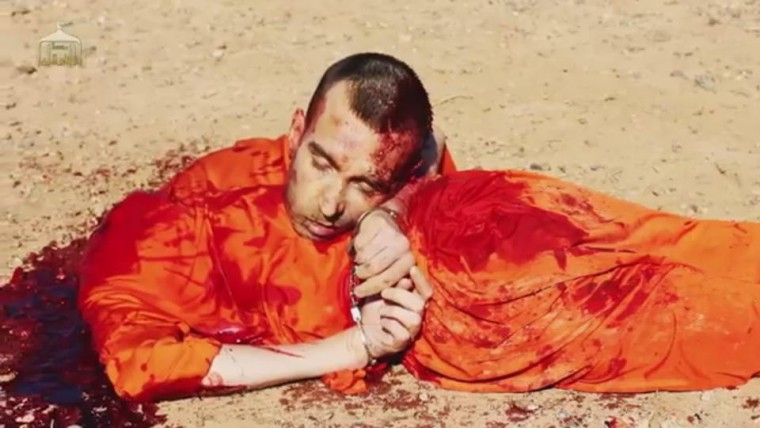 David Haines, British aid worker, post-beheading