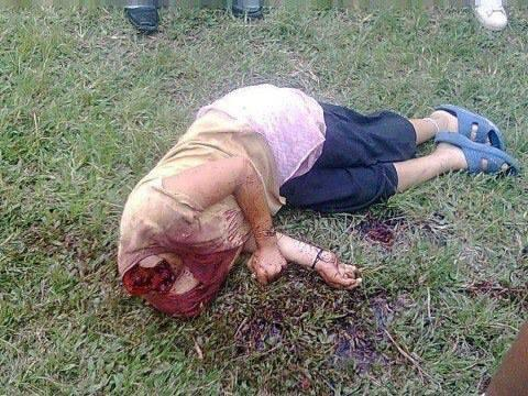Buddhist woman beheaded in Myanmar by Rohinga Muslims
