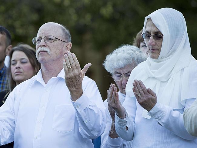 Ed and Paula Kassig, parents of Peter
