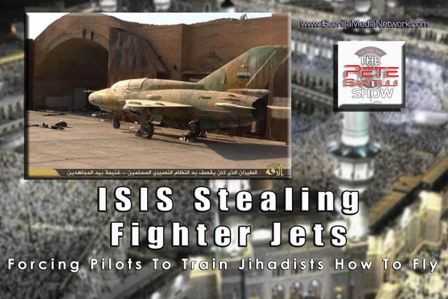 ISIS Stealing Fighter Jets