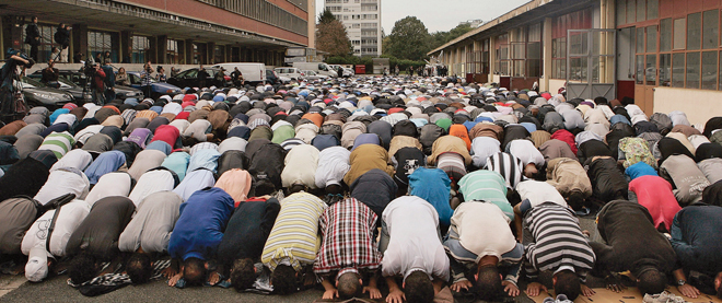 Ban On Street Prayers Comes Into Effect Across France