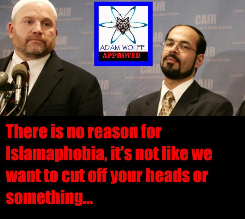 CAIR'S Ibrahim Hooper (left) and Nihad Awadacrap (right)