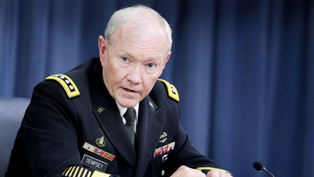 Joint Chiefs of Staff Chairman Martin Dempsey