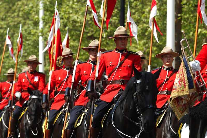 Britain Canada Mounties TOPIX