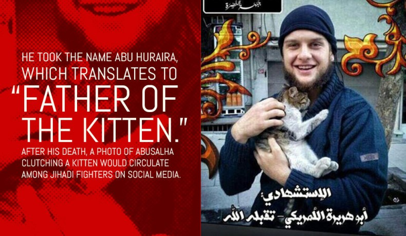 American Muslim convert suicide bomber who blew himself up in Syria
