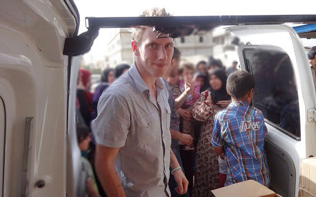 Peter Kassig, convert to Islam who now goes by the name of  Abdul-Rahman Kassig