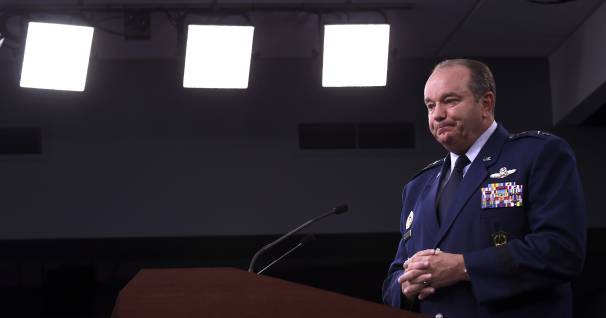U.S. European Command Commander, NATO Supreme Allied Commander Gen. Philip M. Breedlove