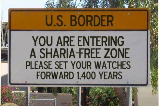 US - Sharia Free Zone!