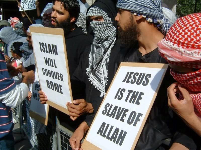 Islamic Protest slogans