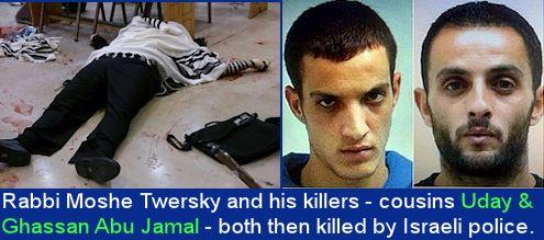 Rabino Moshe--Twersky asesinos