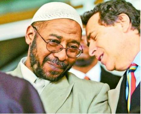 "Norman Siegel, ACLU  with Radical Imam Abdul-Jalil who said the ""greatest terrorists in the world occupy the White House"" and urged Muslims in America to ""stop letting the Zionists of the media dictate what Islam is to us."""