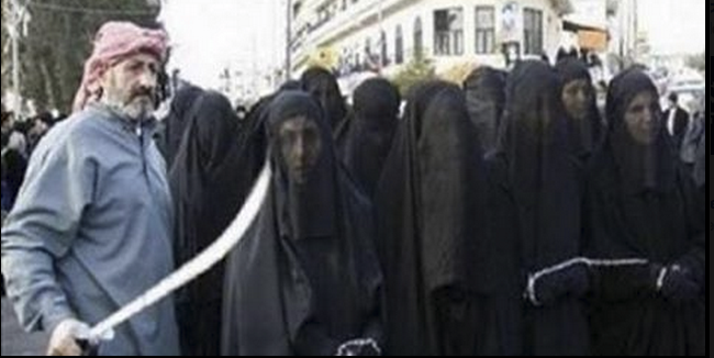 Women who don't work out as wives will be sold in the ISIS slave market
