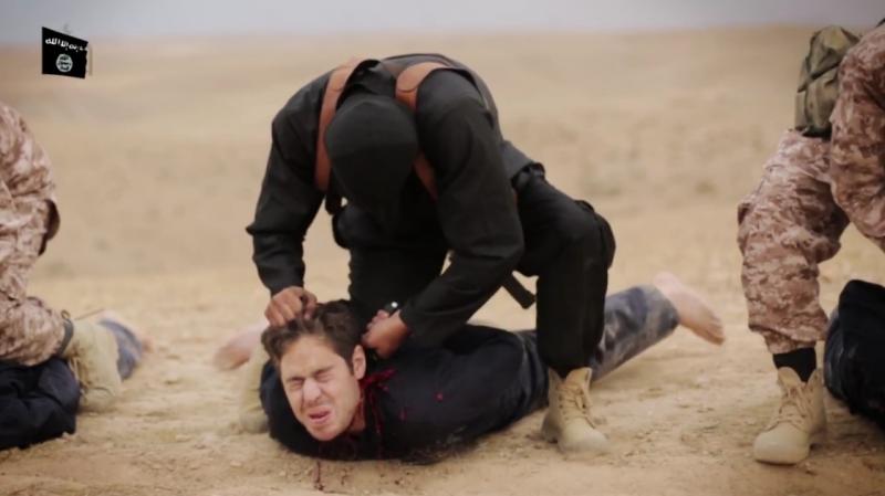 Массовая казнь от ИГ [Видео 21+]