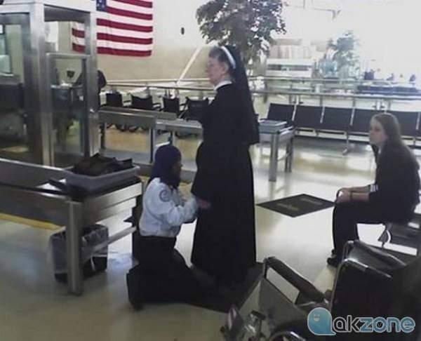 TSA hires Muslim security agents to pat down nuns