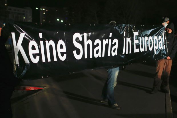 """""""NO SHARIA IN EUROPE"""""""