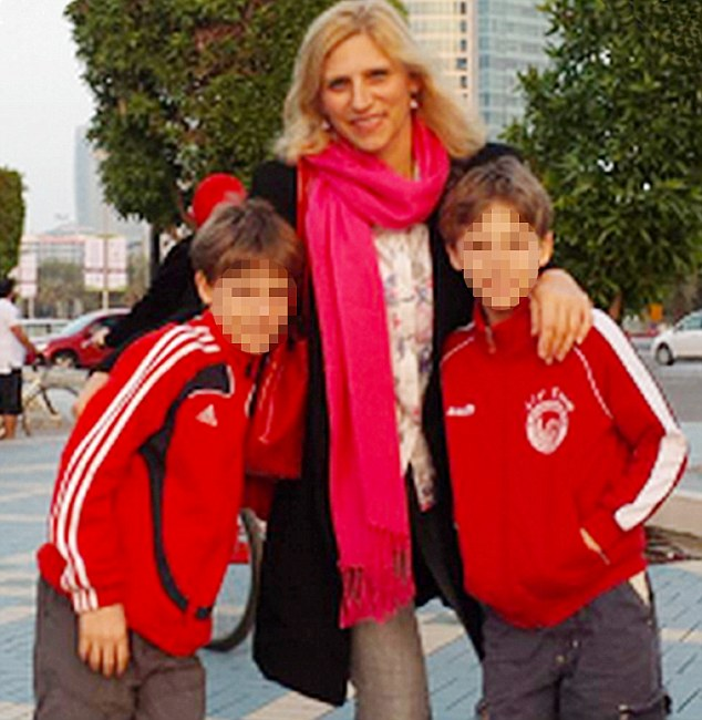 Ibolya Ryan, 47,  was the mother of 11-year-old twin boys