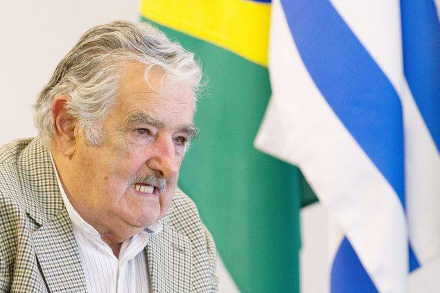 Uruguay'sfar left  President Jose Mujica. (No wonder Obama likes him).