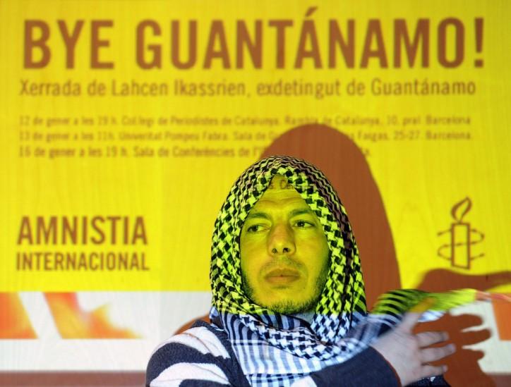 El ex terrorista Guantano Bay marroquí Lahcen Ikassrien
