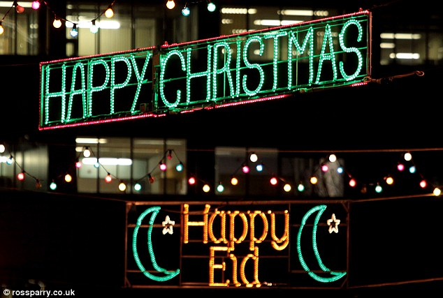 London offers a compromise, including the Muslim holiday of Eid, which happens in late summer/early fall