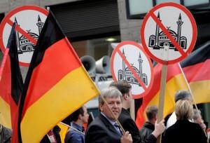 Demonstration von Pro NRW in Solingen