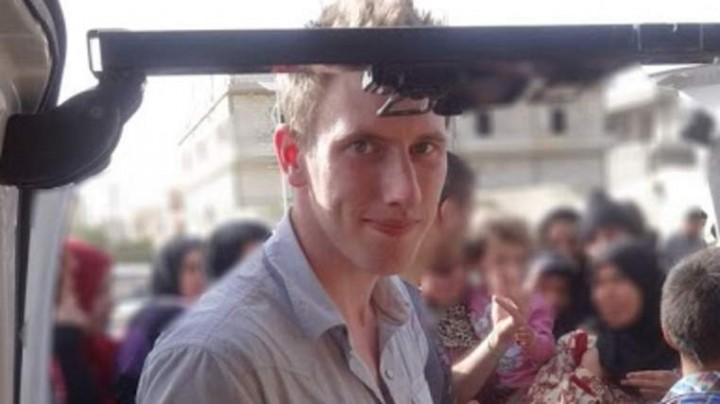 Peter Kassig in Syria by choice