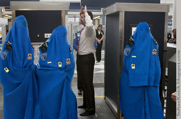 Good idea not to get on any plane that has Muslim security agents at the gate