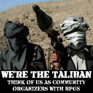 "WHITE HOUSE SpokesIdiot says: ""The Taliban is NOT a terrorist organization"""