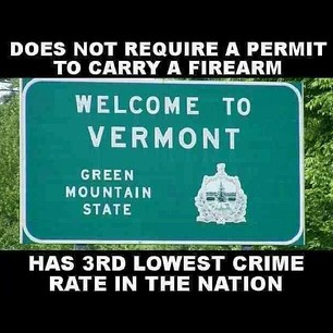 Its a good thing Vermont does not require a permit to
