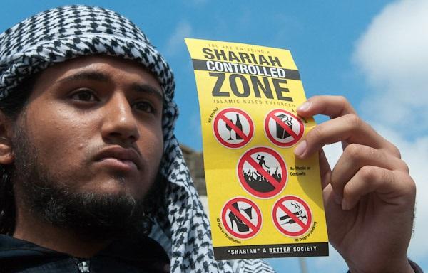 One of Britain's Muslim NO GO ZONES