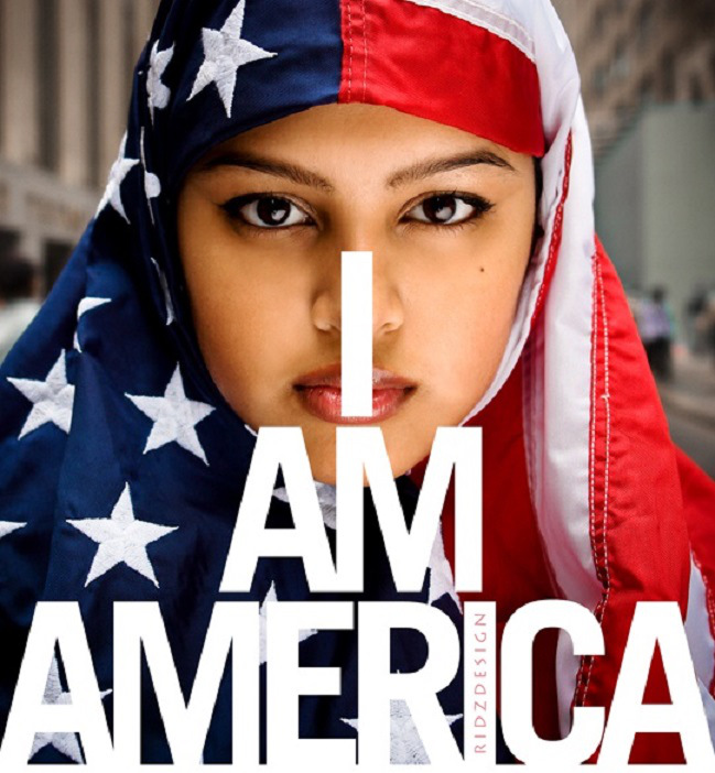 NO, you are not, and you never will be. Stop desecrating the American flag